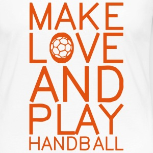 make love and play handball Manches longues - T-shirt manches longues Premium Femme