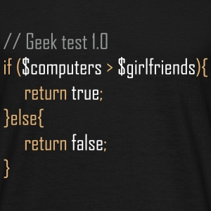 Geek test T-Shirts - Men's T-Shirt