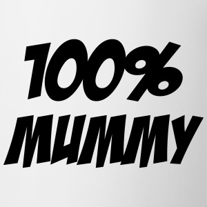 100% Mummy Mugs & Drinkware - Mug