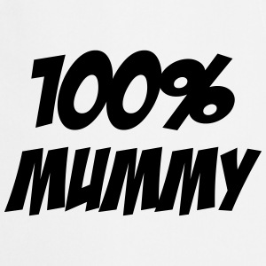 100% Mummy  Aprons - Cooking Apron