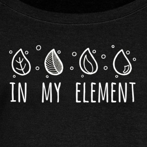 In My Element - Women's Boat Neck Long Sleeve Top