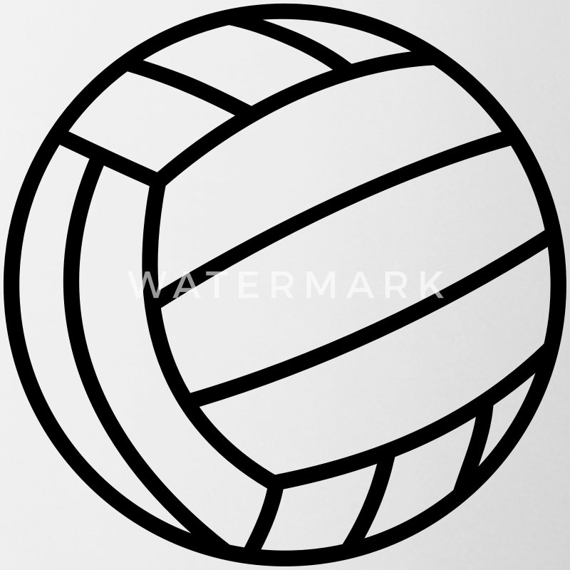 volleyball clipart for t shirts - photo #47