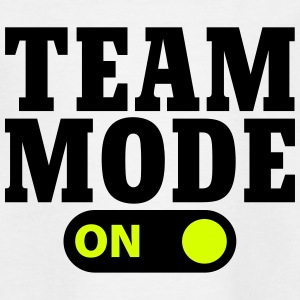 Team Mode on T-shirts - Teenager-T-shirt