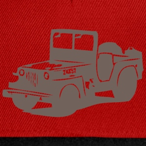 US Jeep Willys  2  - Snapback Cap