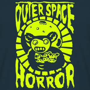 outer space horror c1 - T-shirt herr