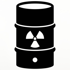 Nuclear waste Mugs & Drinkware - Coasters (set of 4)