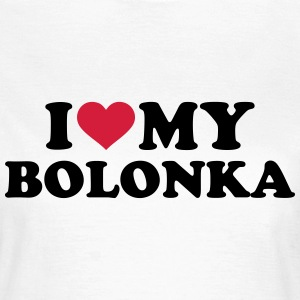 I love my Bolonka T-Shirts - Frauen T-Shirt