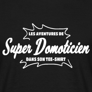 Domoticien Tee shirts - T-shirt Homme