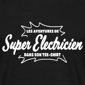 Electricien Tee shirts - T-shirt Homme