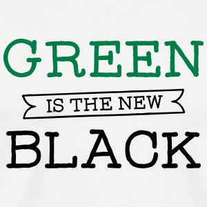 Green Is The New Black T-Shirts - Men's Premium T-Shirt