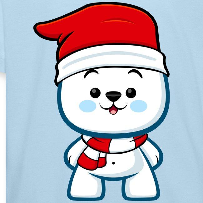 Christmas Polar Bear Boy