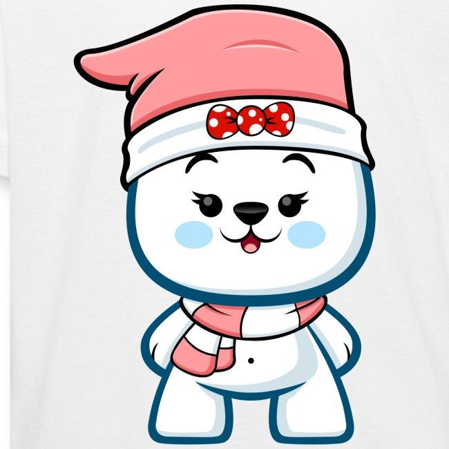 Christmas Polar Bear Girl