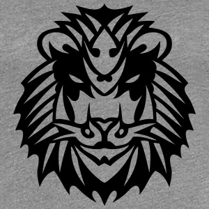 Tribal Löwe Tattoo 1909 T-Shirts - Frauen Premium T-Shirt