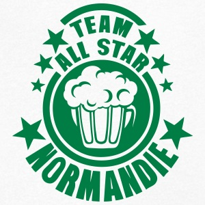 normandie team all star biere alcool 15 Tee shirts - T-shirt Homme col V