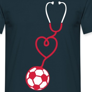 foot stethoscope coeur love stetoscope 1 Tee shirts - T-shirt Homme