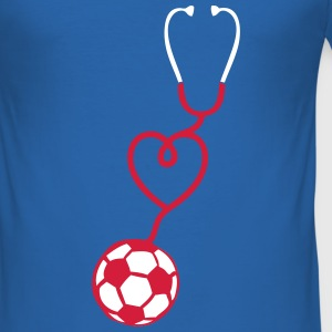 foot stethoscope coeur love stetoscope 1 Tee shirts - Tee shirt près du corps Homme
