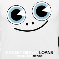 Design ~ Pocket Money Loans Slim T-shirt