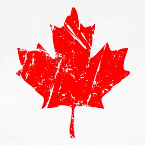 Maple Leaf - Canada - Ahornblatt T-Shirts - Frauen T-Shirt