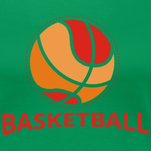 Basketball Retro Design T-Shirts - Frauen Premium T-Shirt