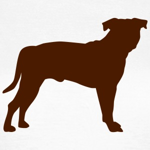 Staffordshire Terrier T-Shirts - Frauen T-Shirt