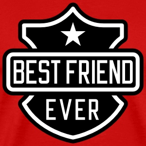 Best Friend ever T-skjorter - Premium T-skjorte for menn