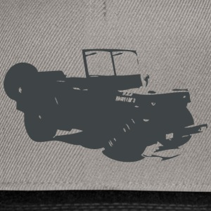 US Jeep Willys  - Snapback Cap