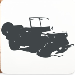 US Jeep Willys  - Untersetzer (4er-Set)