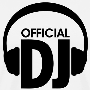 Official DJ Mixer Mix Disco Kopfhörer Headphones - Männer Premium T-Shirt
