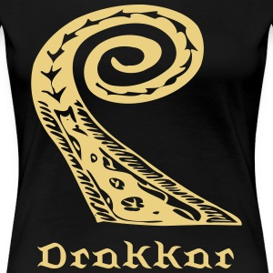 Drakkar viking ship - Women's Premium T-Shirt
