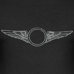 wing_vec_1 sv T-shirts - Slim Fit T-shirt herr