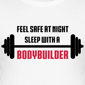 Bodybuilder T-shirts - Herre Slim Fit T-Shirt