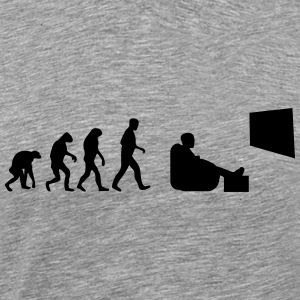 tv evolution T-Shirts - Männer Premium T-Shirt