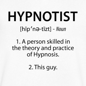 Hypnotist Definition - Men's V-Neck T-Shirt