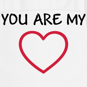 You are my Love - I heart my Boyfriend Girlfriend   Aprons - Cooking Apron