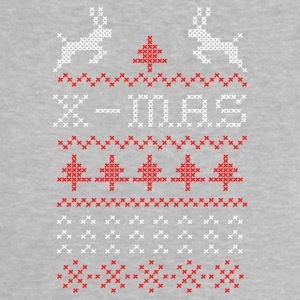 X-mas ugly sweater design for green Magliette - Maglietta per neonato