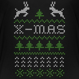 X-mas ugly sweater design for red Shirts - Kinderen Premium T-shirt
