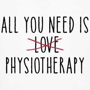 All You Need Is (LOVE) Physiotherapy T-Shirts - Männer Bio-T-Shirt