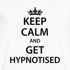 Keep Calm Get Hypnotised V Neck - Men's V-Neck T-Shirt