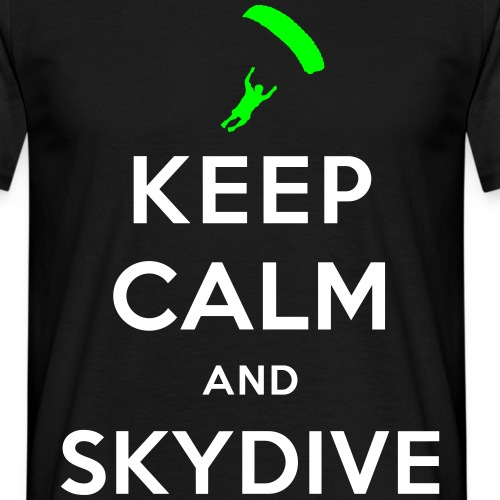 Keep calm skydive
