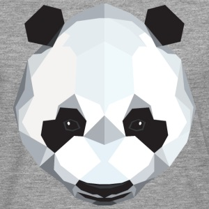 Panda Polygon Style Manches longues - T-shirt manches longues Premium Homme