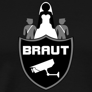 Braut Security - Männer Premium T-Shirt