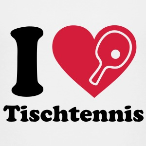 Ich liebe Tischtennis I love Table Tennis Logo  T-Shirts - Kinder Premium T-Shirt