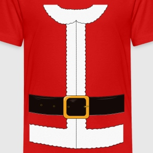 Funny Santa Claus / Christmas costume Shirts - Teenage Premium T-Shirt