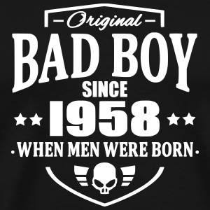 Bad Boy Since 1958 Camisetas - Camiseta premium hombre