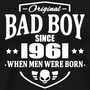 Bad Boy Since 1961 T-shirts - Mannen Premium T-shirt