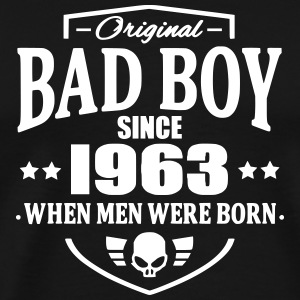 Bad Boy Since 1963 Camisetas - Camiseta premium hombre