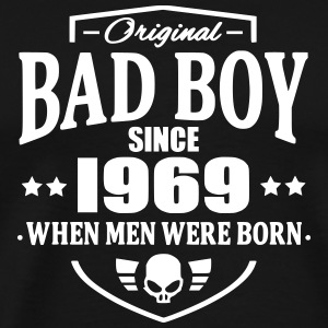 Bad Boy Since 1969 T-Shirts - Männer Premium T-Shirt
