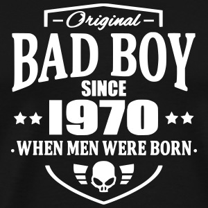 Bad Boy Since 1970 Camisetas - Camiseta premium hombre