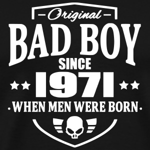 Bad Boy Since 1971 T-Shirts - Men's Premium T-Shirt