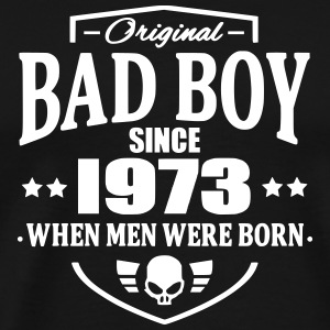 Bad Boy Since 1973 T-shirts - Mannen Premium T-shirt